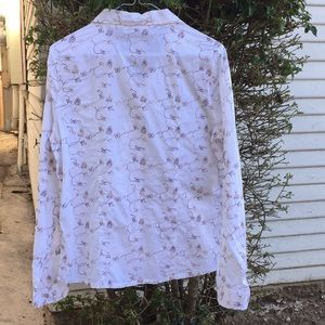 Horny Toad Tops - Horny Toad  organic cotton embroidered shirt